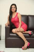 Shipra Gaur in Pink Short Micro Mini Tight Dress ~  Exclusive 079.JPG