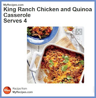 King Ranch Chicken and Quinoa