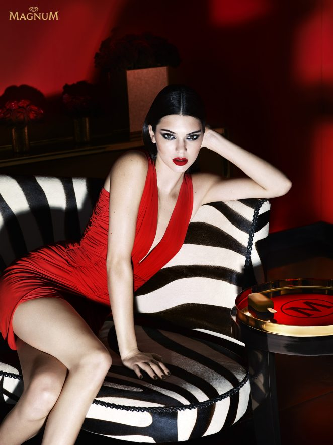 Kendall Jenner – Magnum Double Ice Cream 2016