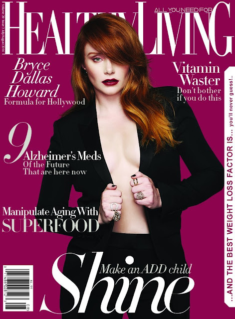 Actress, @ Bryce Dallas Howard - Healthy Living Magazine July/August 2016