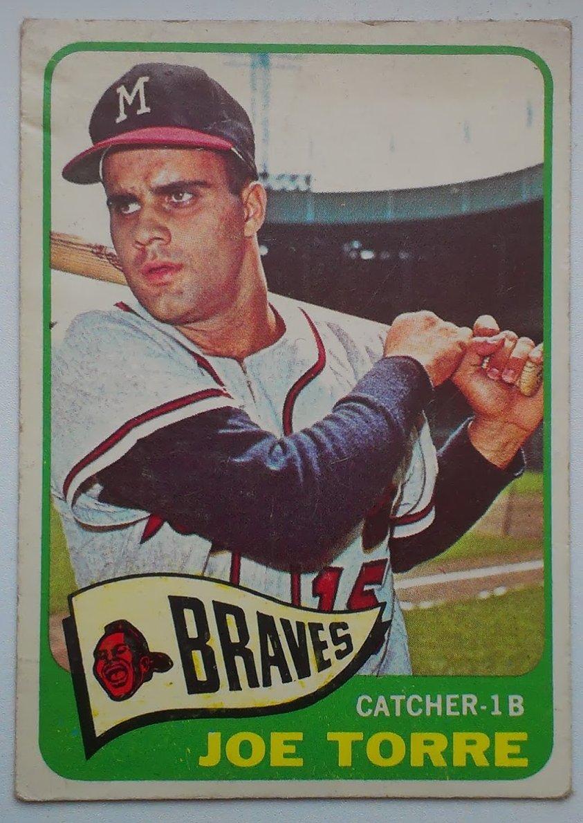 Phungo Sunday Night Baseball 1965 Topps 200 Joe Torre A Hero