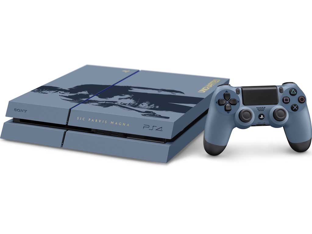 """""""Uncharted 4: A Thief's End"""" Limited Edition PlayStation 4 ..."""