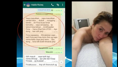 Sidang Kasus Balada Cinta Rizieq Ditunda Karena Alasan Kesehatan Firza dan Kak Emma