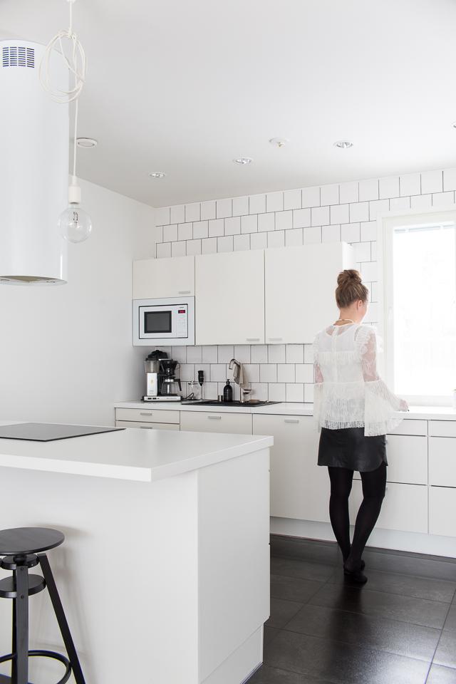 keittiö, arjen luksusta on toimiva ja puhdas koti.