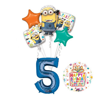 Despicable Me 3 decorations