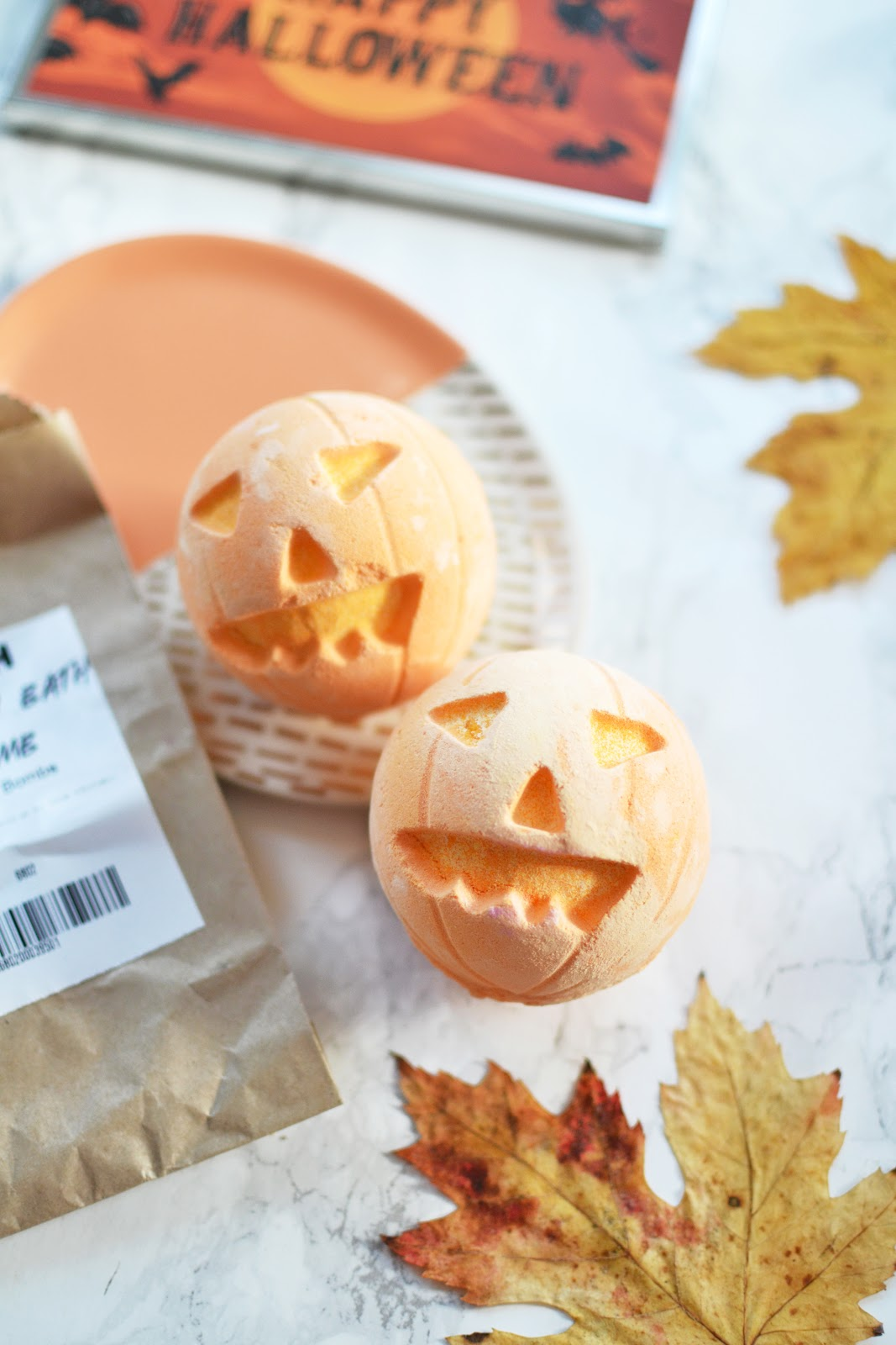 Pumpkin Bathbomb