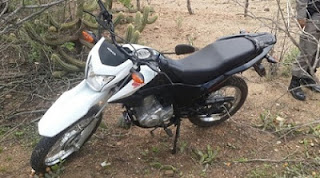 Policiais de Nova Palmeira e Pedra Lavrada agem rápido e recuperam moto tomada de assalto nesta quarta