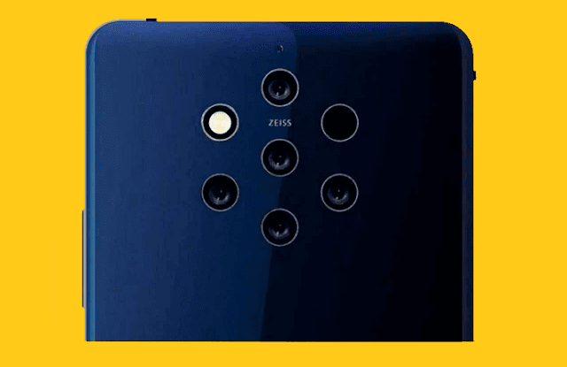 Nokia 9 PureView with Penta Cameras