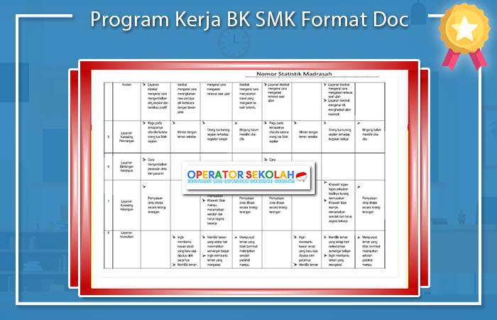 Program Kerja BK SMK