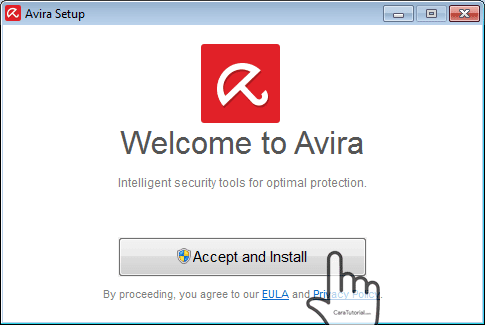 accept and install avira free antivirus