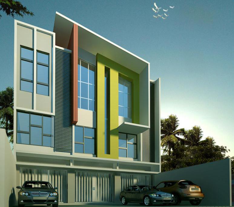 Desain Gedung: Desain Gedung Perkantoran Minimalis Modern