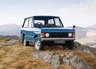 1970 Range Rover Classic 2 Door Adventure Car
