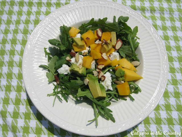 Mango and Arugula Salad