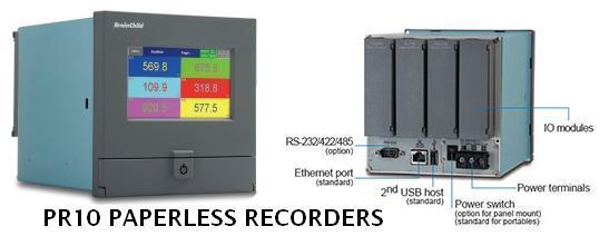 PR10 Paperless Recorder brainchild