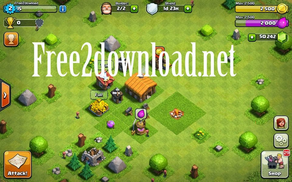 coc free gems clash of clans hack android