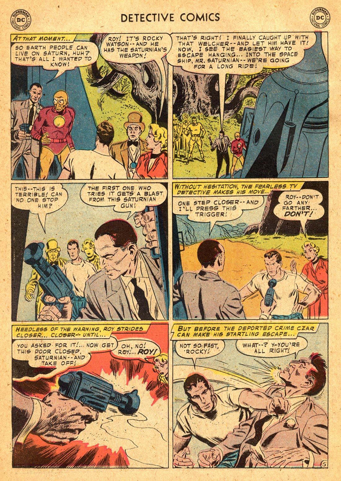 Read online Detective Comics (1937) comic -  Issue #255 - 22