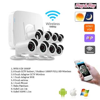 CCTV Wireless Kunjungi jasaonline.web.id