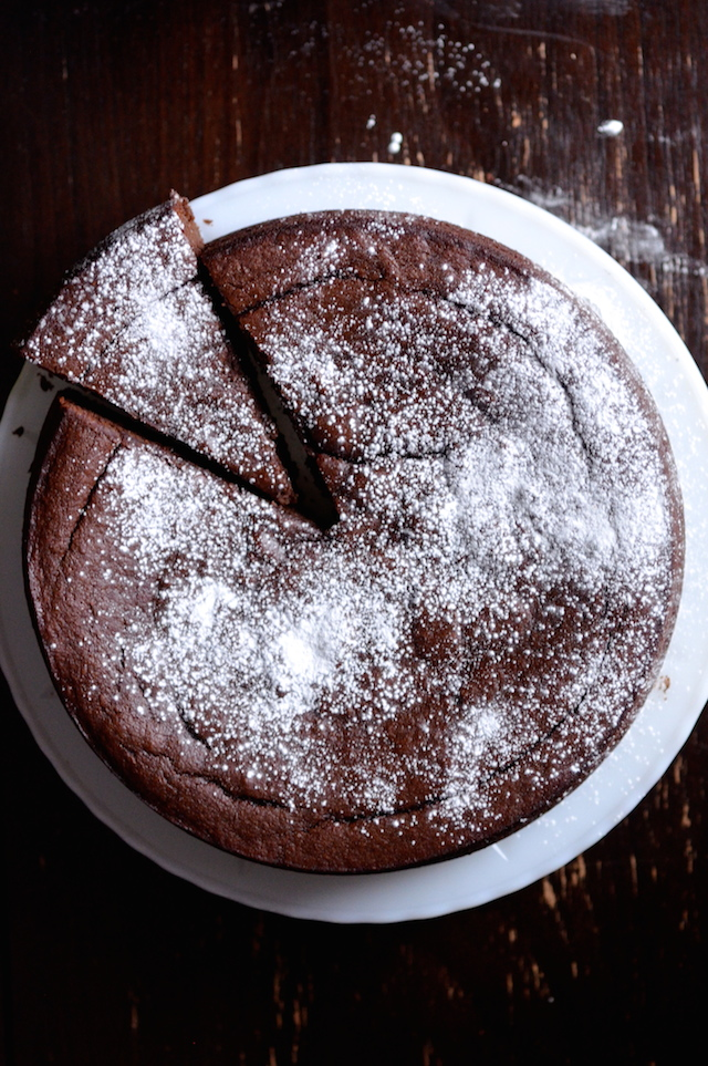 Nigella Chocolate And Almond Cake