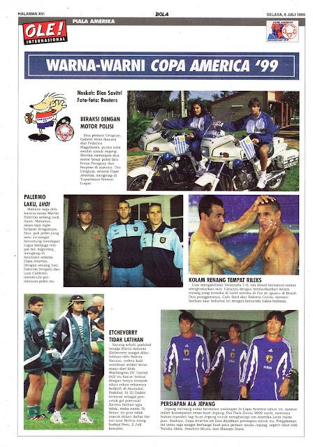 WARNA-WARNI COPA AMERICA 1999