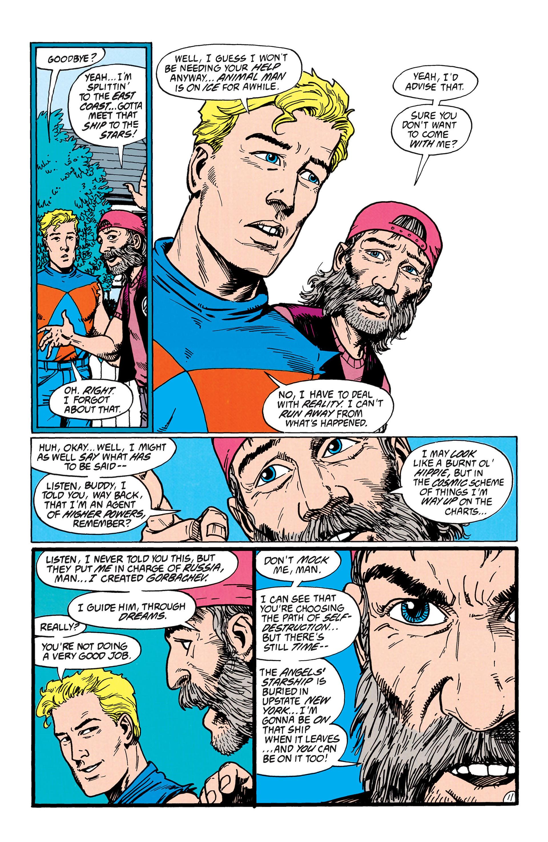Read online Animal Man (1988) comic -  Issue #38 - 12
