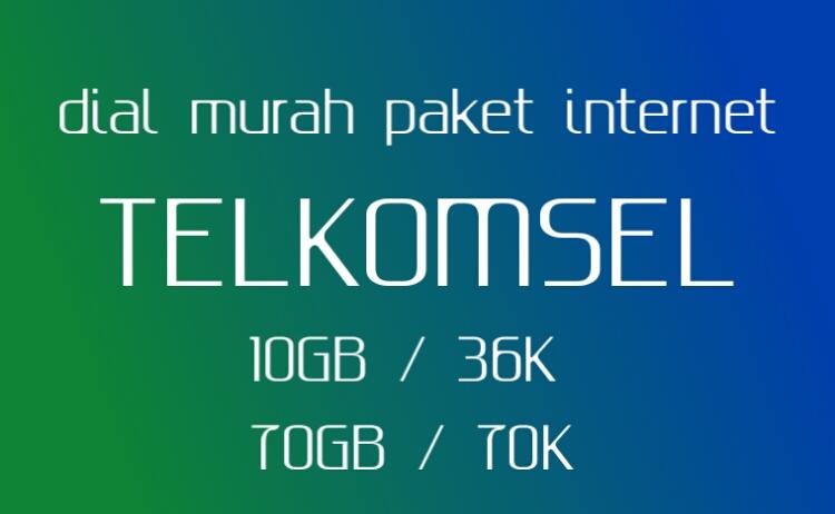 Dial Kuota  Paket Internet Murah Telkomsel Terbaru 2019