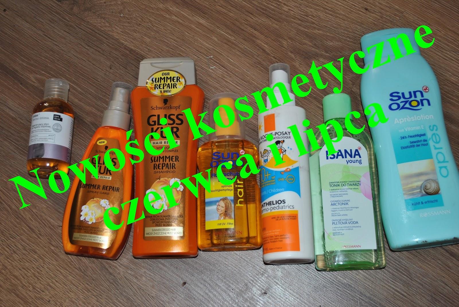 Kosmetyczne nowości Czerwca i Lipca / haul kosmetyczny