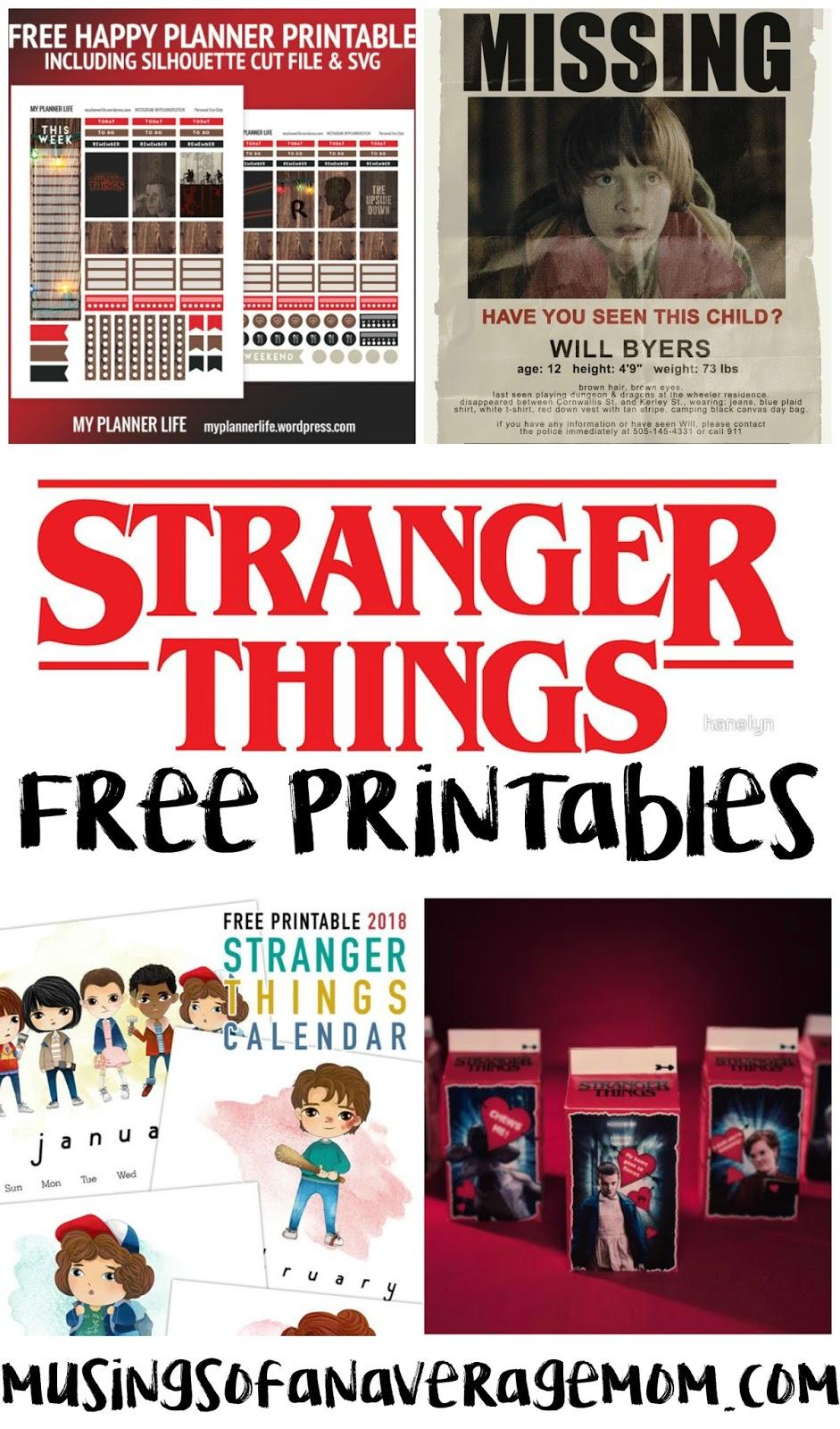 And Now I Can Not Wait Until Season 3 So Here Is A Round Up Of 20 Free Printables To Make The Waiting Less Painful