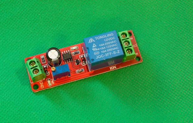 NE555, Timer, Switch