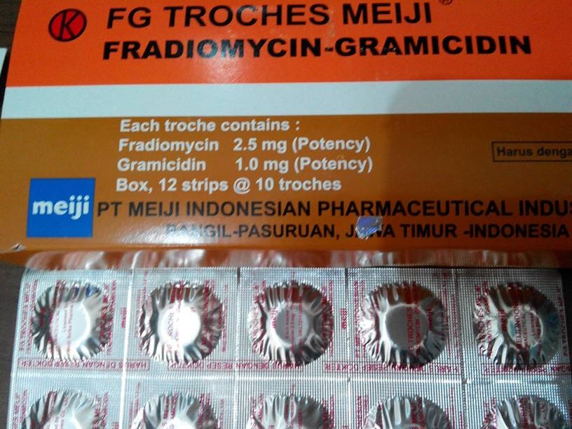 F g troches obat apa
