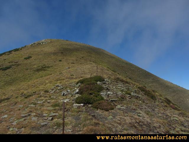 Ruta Pico Cellón, de Entrambospuertos a la cima del Cellón