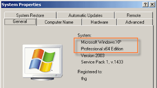 windows xp 64 bits
