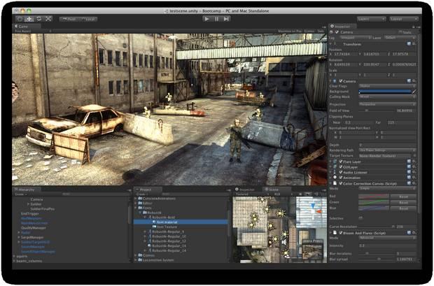 Unity 2017.4.1 - Δημιουργήστε High-end τρισδιάστατα Video Games