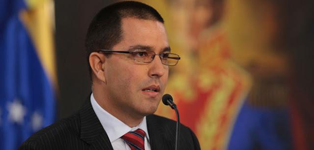Arreaza pide a Perú reflexionar sobre impedir a Maduro ir Cumbre las Américas