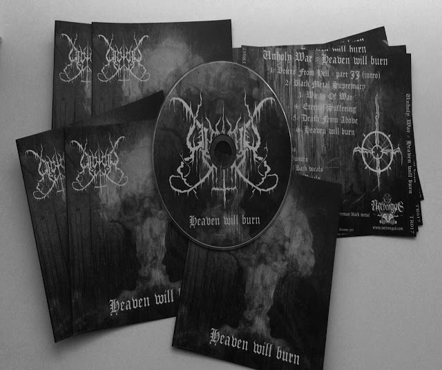 unholy war black metal allemand