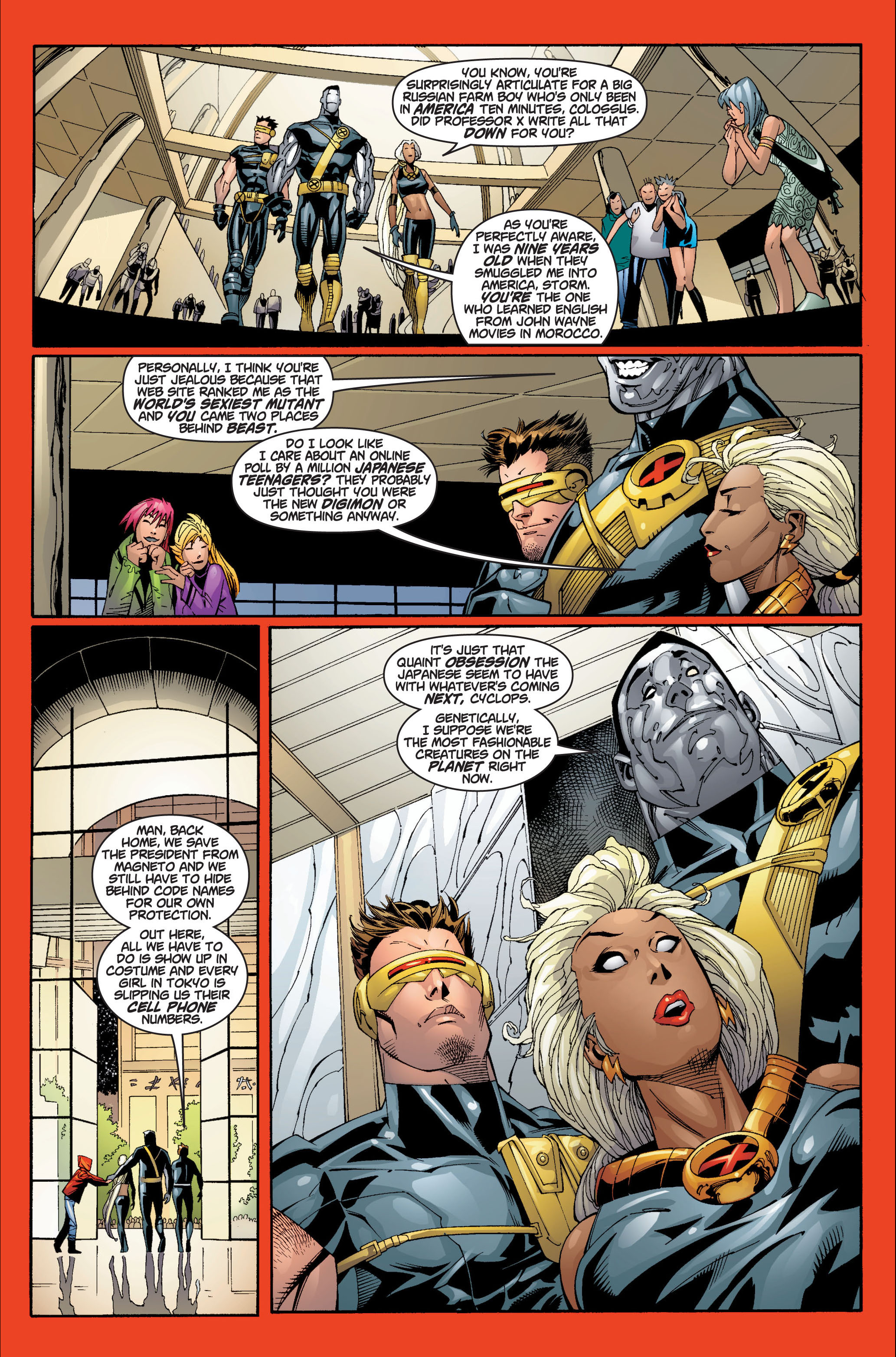 Read online Ultimate X-Men comic -  Issue #7 - 13