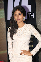 Chandini Chowdary in white Tight dress at Shamanthakamani pre release function ~  Exclusive 052.JPG