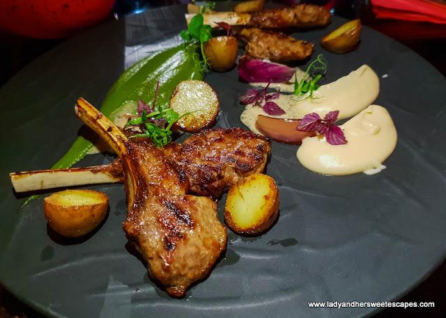lamb ribs in Maison Rouge Dubai
