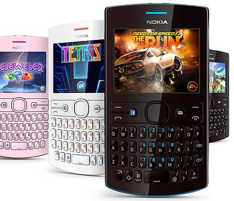 SysPhones: Nokia Asha 205 - One SIM - Dual SIM