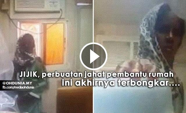 Video: Perbuatan Jijik Pembantu Rumah Ini Akhirnya Terbongkar
