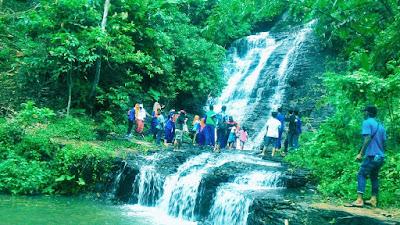 Terjun Podomoro Lampung Utara