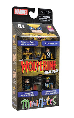 Marvel Minimates Wolverine Saga Box Set