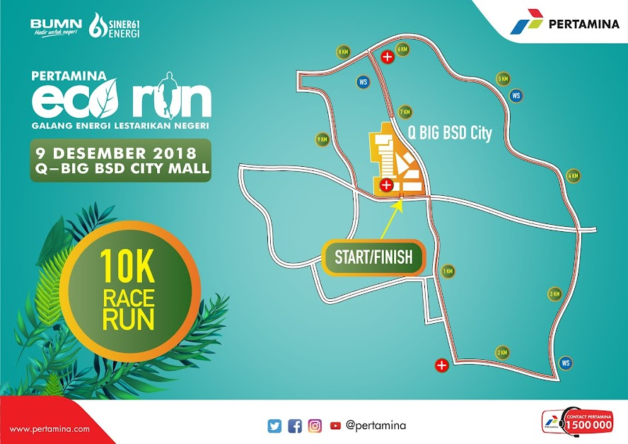 Pertamina Eco Run • 2018 10K