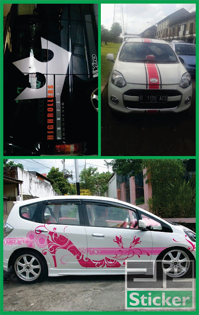 Cutting Sticker Kaca
