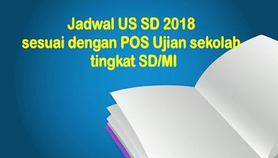 Jadwal US SD 2018