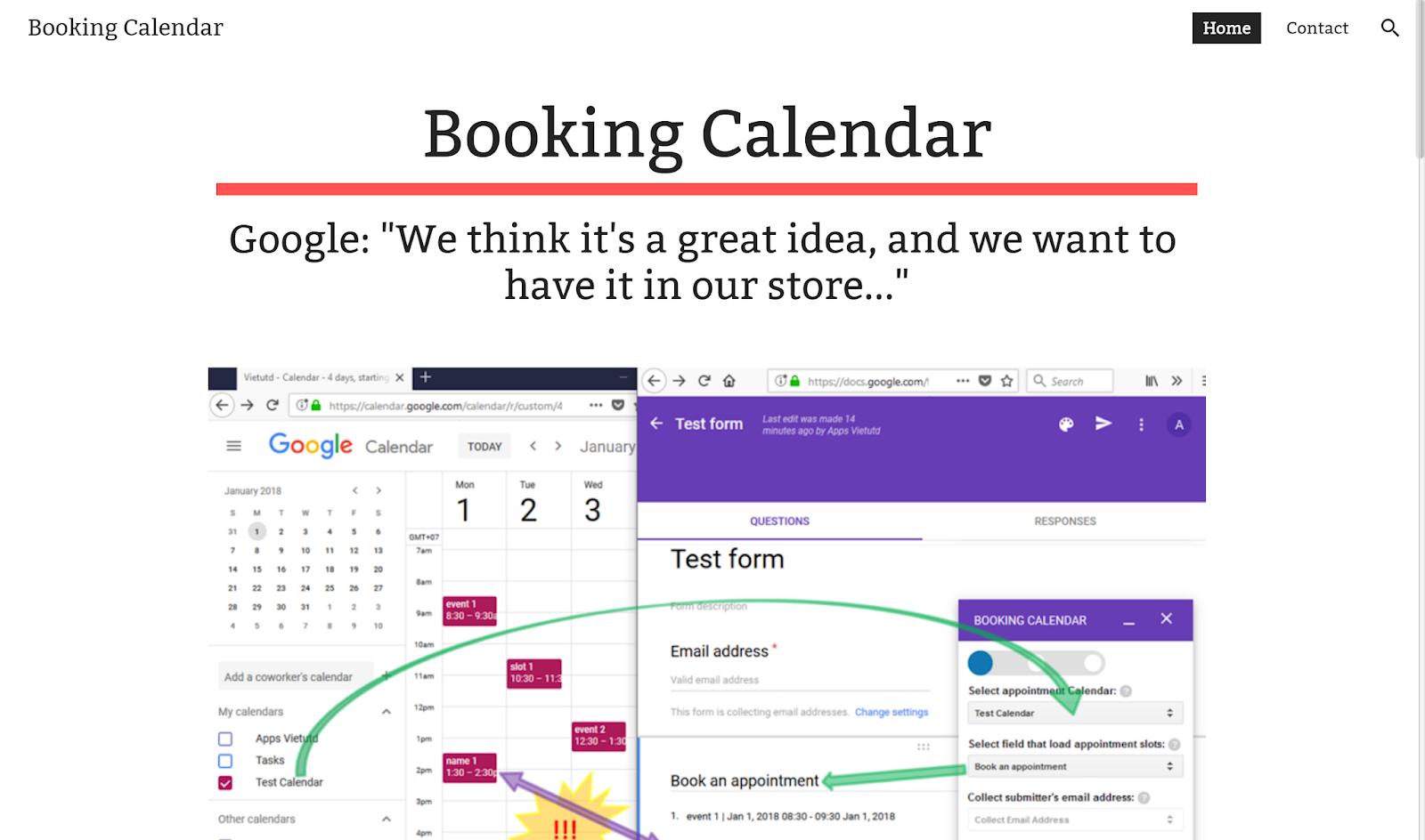 讓其他人用 Google 表單預約我的 Google 日曆時段,實測教學