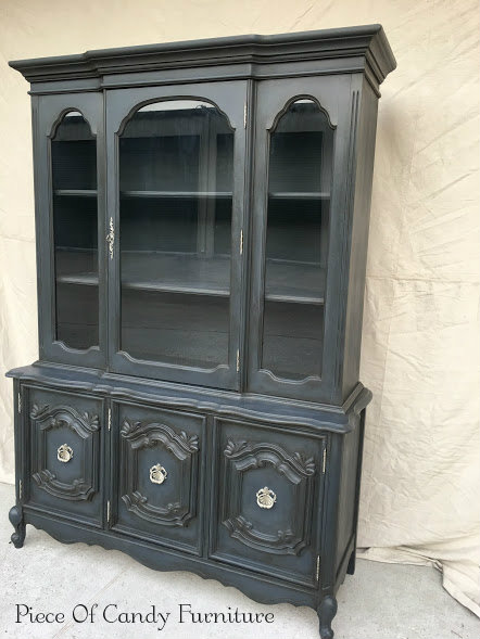 Piece Of Candy Furniture French Provincial China Cabinet