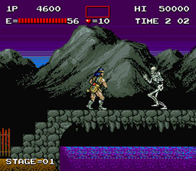 Arcade Castlevania game
