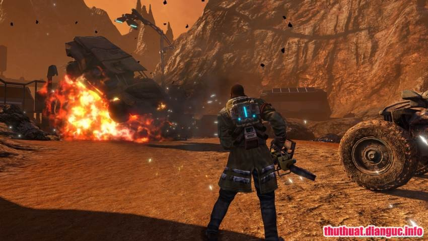 Tải game Red Faction Guerrilla Re-Mars-tered miễn phí,