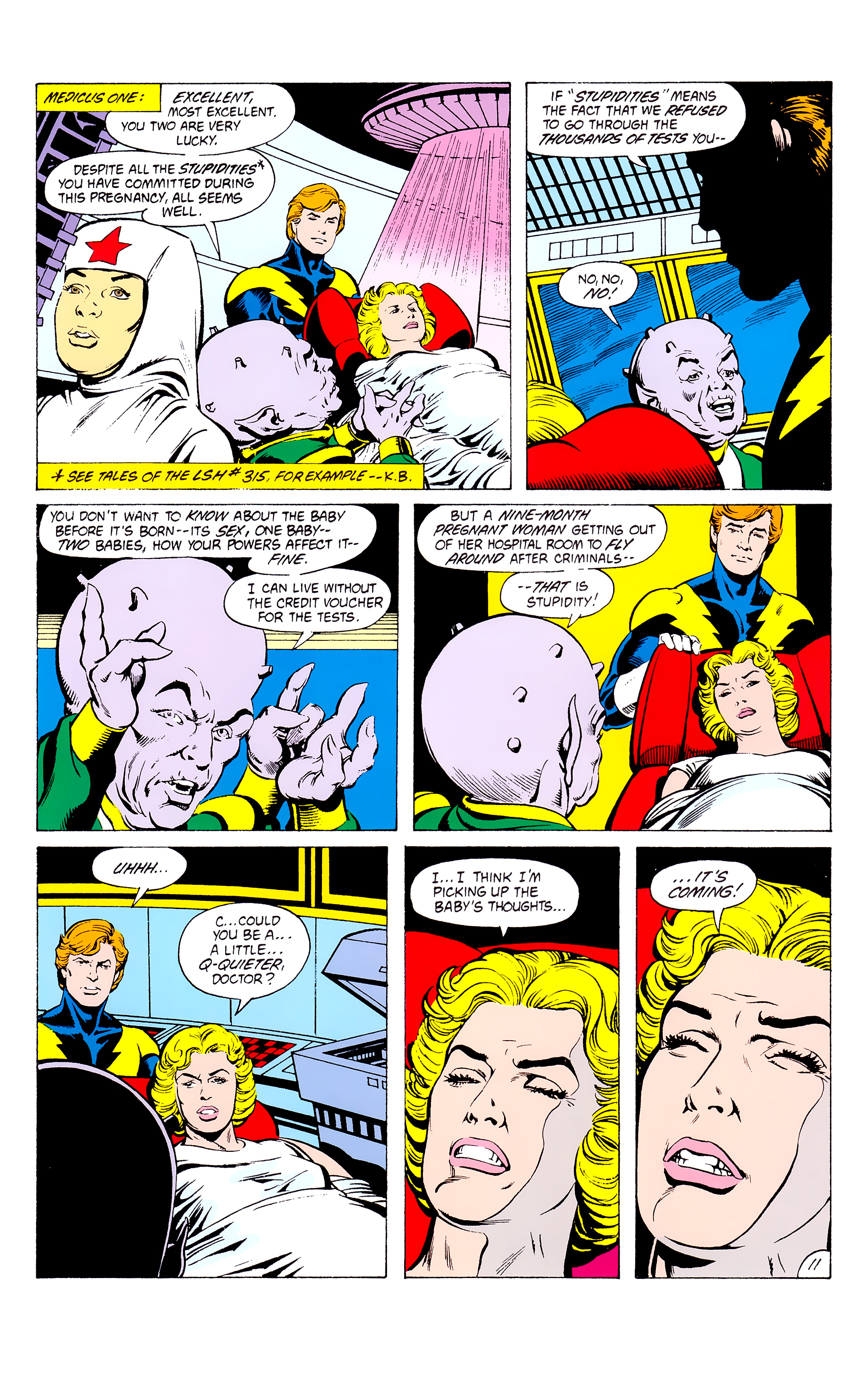 Legion of Super-Heroes (1980) _Annual_3 Page 11