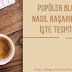 Popüler Blog Siteleri Nasıl Başarılı Oldu? İşte Tespitlerim